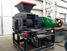 high quality large cobblestone briquette making machine