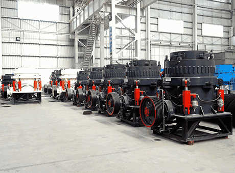 short head cone crusher structure and accessories