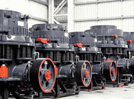 difference between using the standard cone crusher and