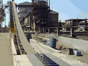 Syria economic new rock bucket conveyer  Caesar