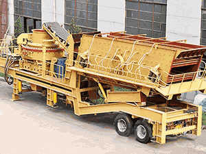 Design And Lay Out Of The Crushing Plant