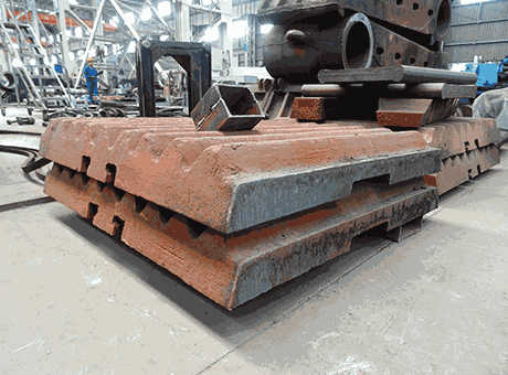 China Movable Jaw Liner Plate for Jaw Crusher  China Jaw