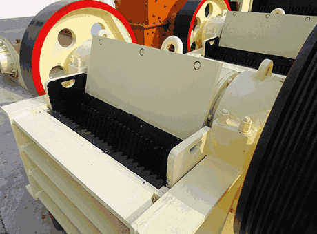 tangible benefits large pyrrhotite combination crusher