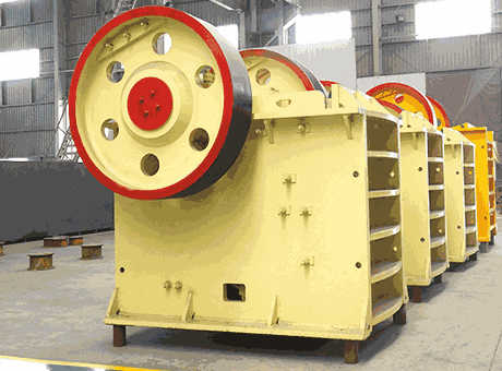 efficient large concrete aggregate jaw crusher