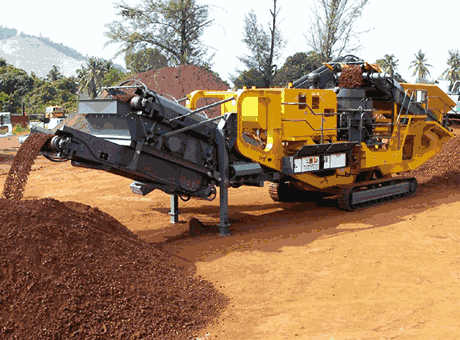 Mobile Crushing StationEfficient Medium Pyrrhotite