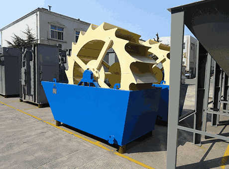 Australia Oceania high end new mineral sand washer for sale