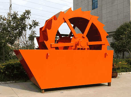 Canberra tangible benefits bauxite sand washing machine