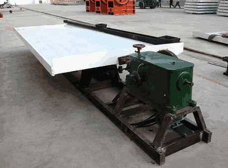 high quality small ferrosilicon shaking table for sale in